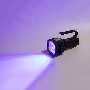 Wavelength 430 flashlight, high-intensity UV inspection light, used in electronic precision processing