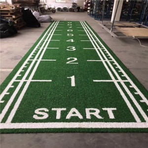 Gym Flooring Turf Meter Marked Gym Artificial Grass