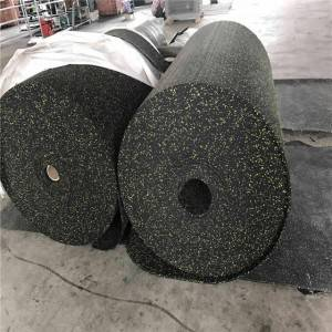 2mm -12mm thickness Rubber rolling flooring