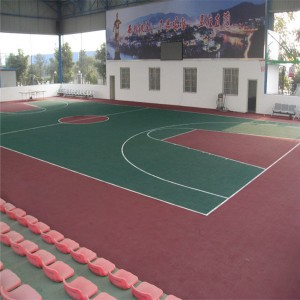 China antislip and waterproof UV resistance Modular sports tile assembled sports tiles
