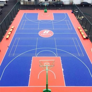 Hot Sale Modular 3×3 Basketball Court Flooring Sport Court Builder