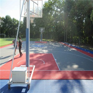 Durable cheap price used Sport Court Flooring for Portable Sport Court /Outdoor Basketball Flooring