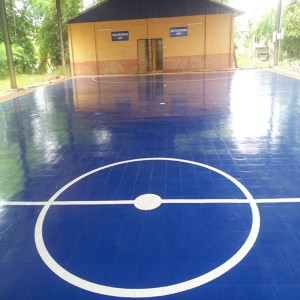 Portable Virgin PP material Futsal Tiles Futsal Pitch Futsal Flooring
