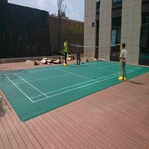 Waterproof Anti UV Outdoor Volleyball Sports Court Flooring