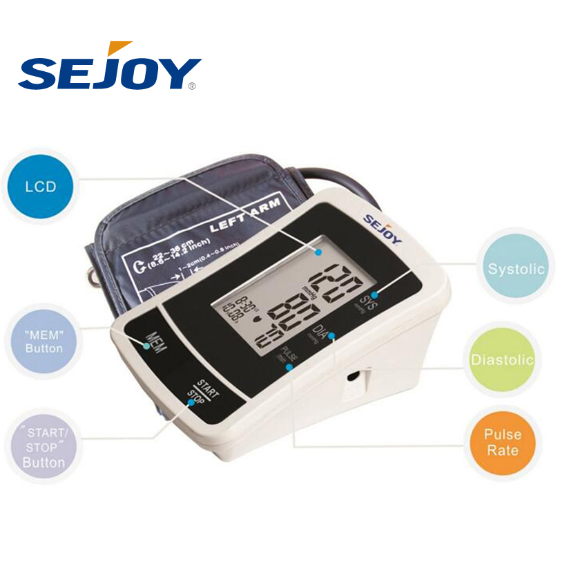 Wearable Upper Arm Full Automatic Digital Blood Pressure Monitor
