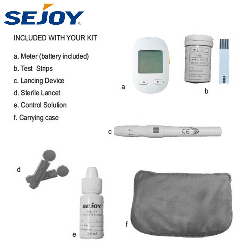 Latest Medical Apparatus Electronic Blood Glucose Meter