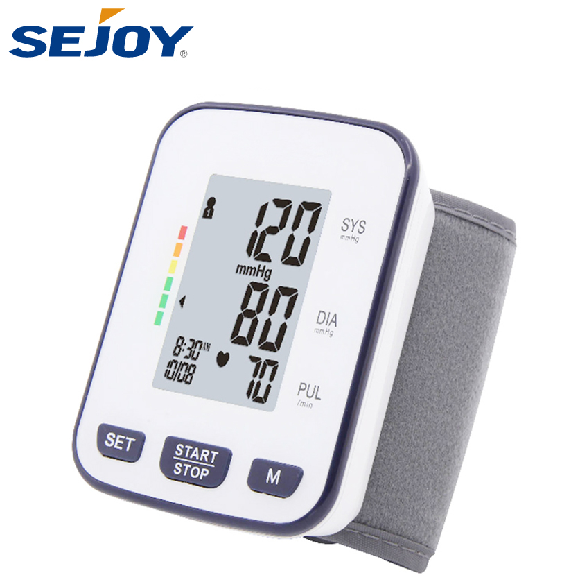 Heart Rate Wrist Watch Blood Pressure Monitor