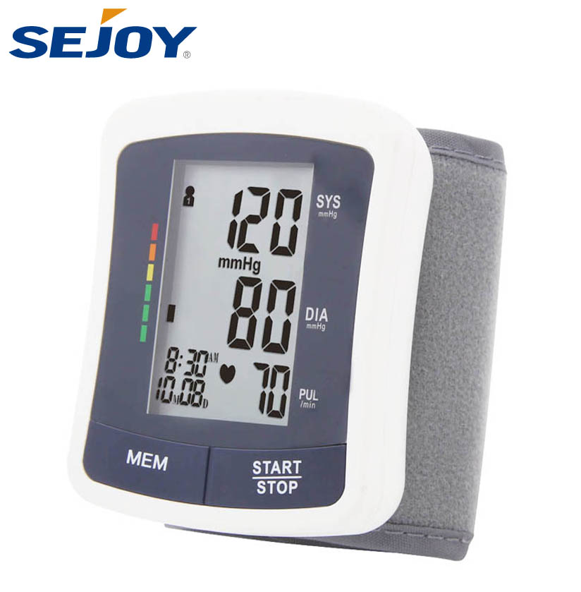 Factory Professional Household Medical Wrist Digital Blood Pressure Monitor