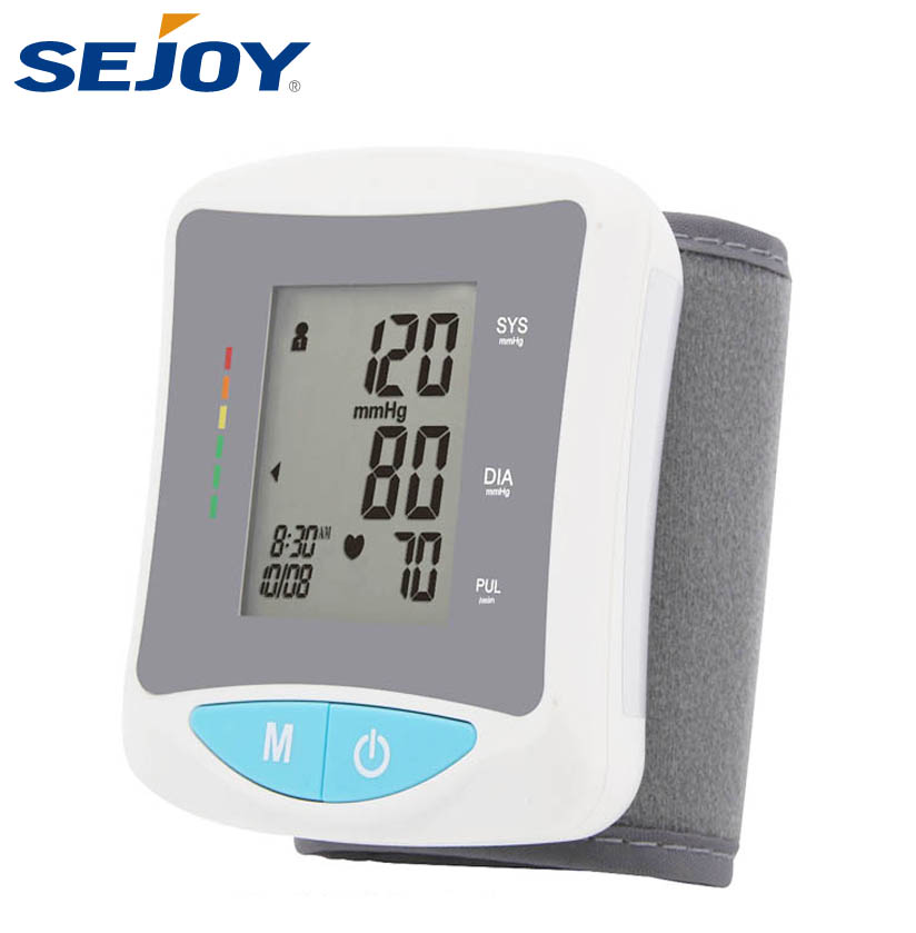 Digital Wrist Automatic Watch Type Blood Pressure Monitor