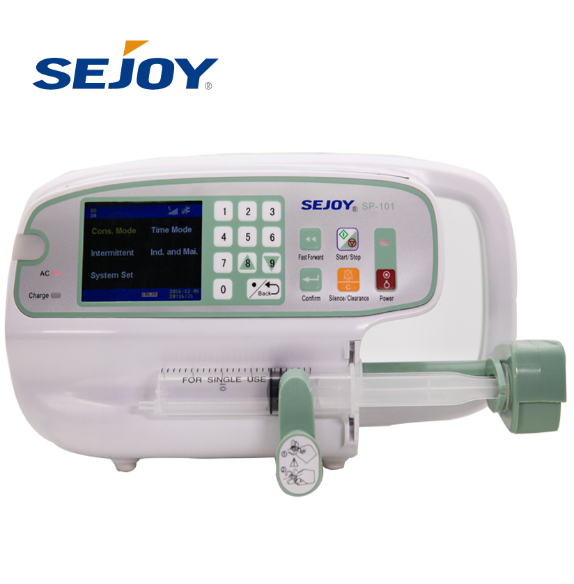 OEM Volumetric Accuracy Automatic Hospital Medical Syringe Pump