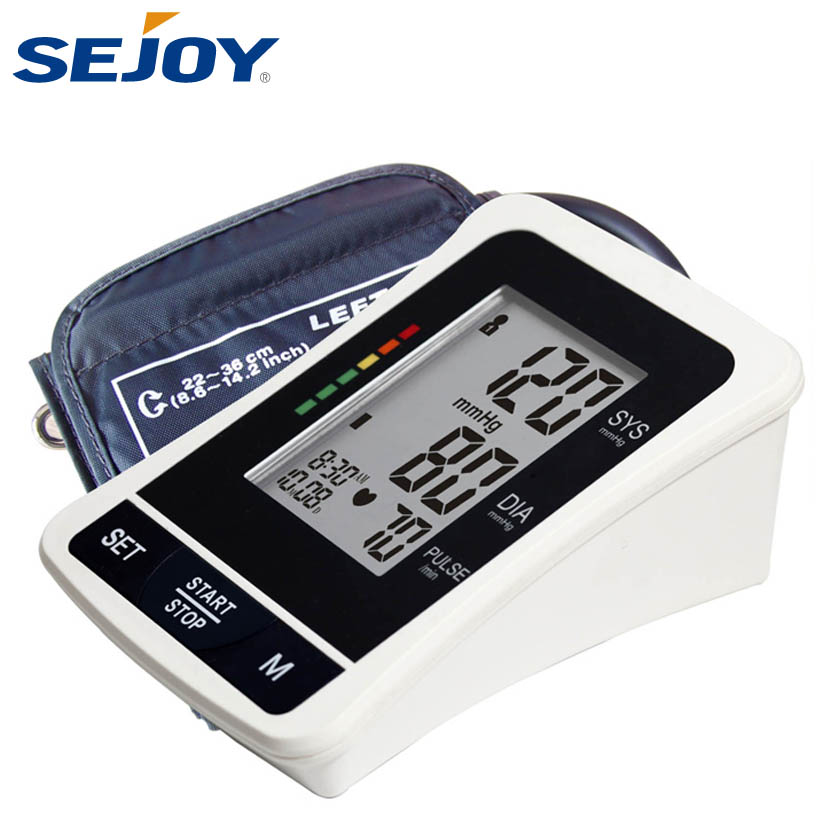 Manufacturer Digital Large LCD Blood Pressure Sphygmomanometer