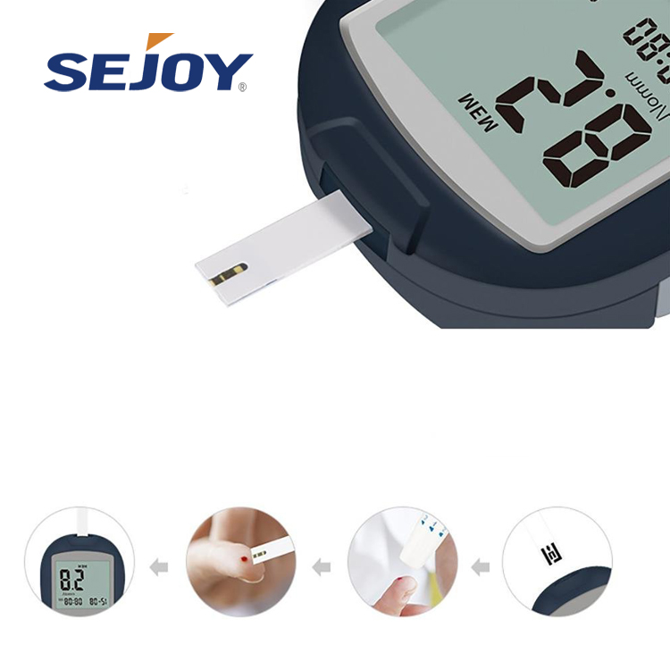 House Service Detector Tester Blood Glucose Meter Type No Coding Blood Glucose Meter