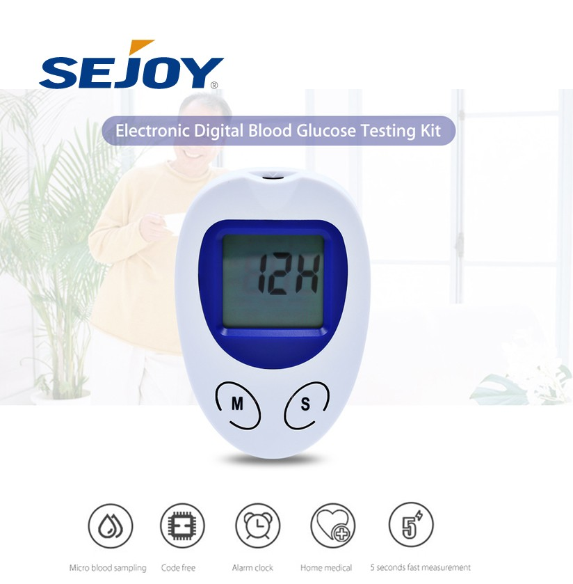 Fast Reading Automatic Home Blood Glucose Meter