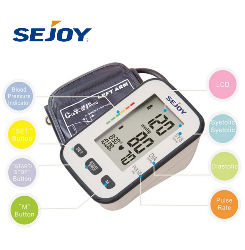 Automatic Sejoy Elderly Care Blood Pressure Monitoring Machine