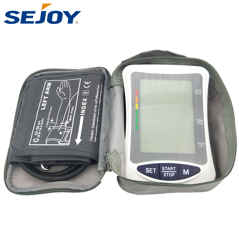 Home Health Cuff Large LCD Blood Pressure Monitor