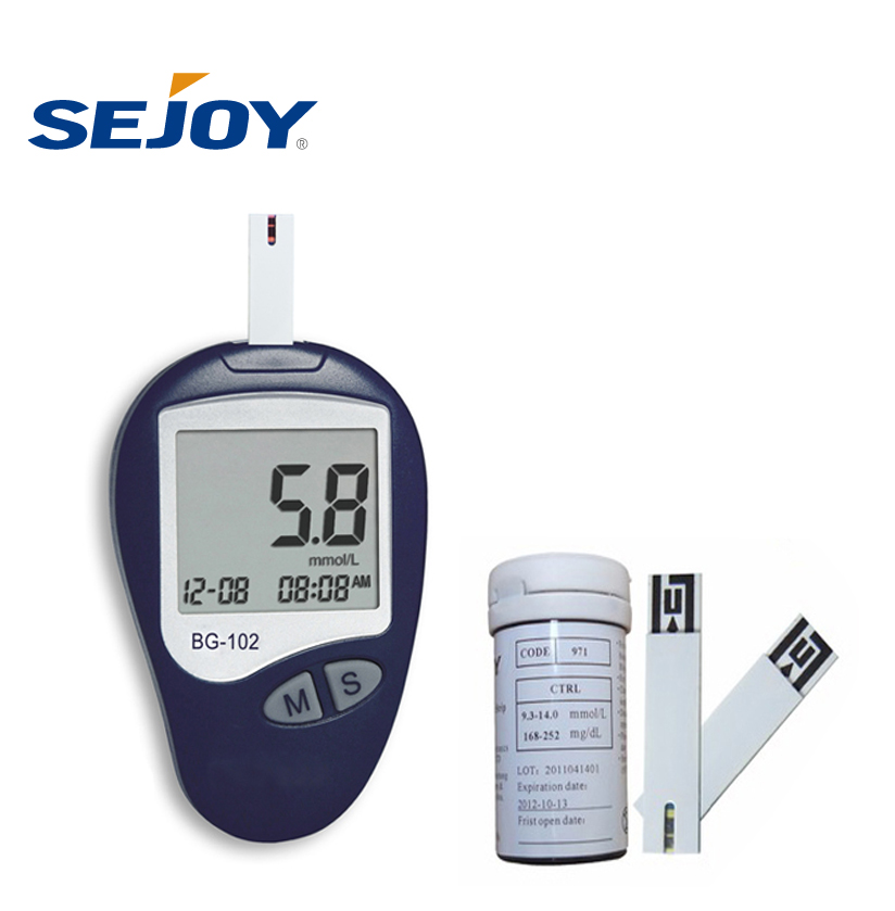 Quick Check Digital Test Strips Diabetes Blood Glucose