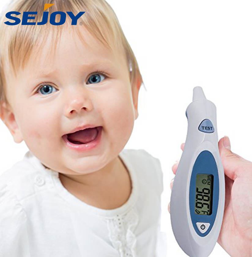China Manufacturer Customized Logo Medical Ear Infrared Thermometer
