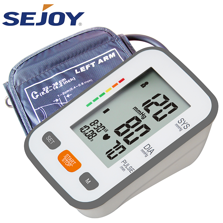 Extra Large LCD Display Digital Electronic Blood Pressure Monitor