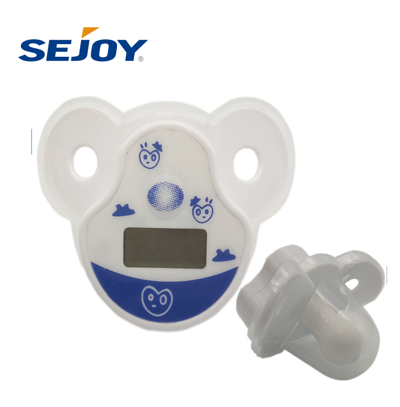 LCD Display Oral Use Baby Pacifier Digital Thermometer