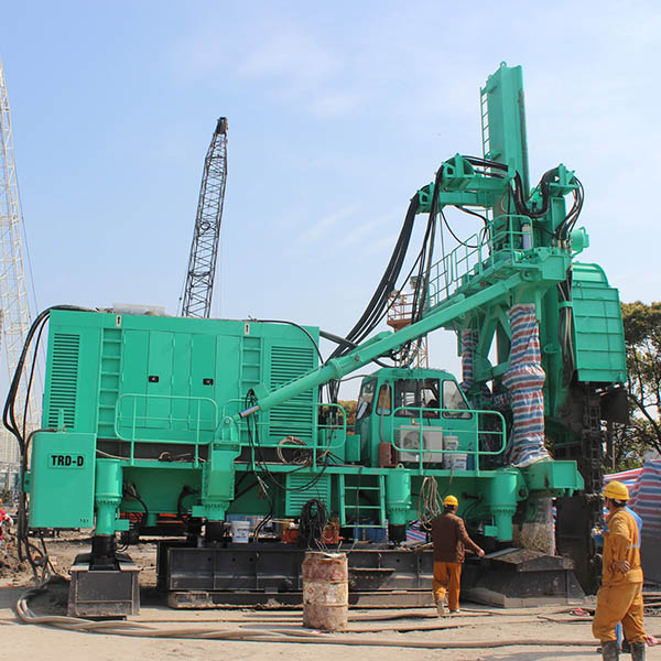 2019 High quality Piling & Drilling Equipment Supplier - TRD-60D/60E Trench cutting & Re-mixing Deep wall Series method equipment – Engineering Machinery