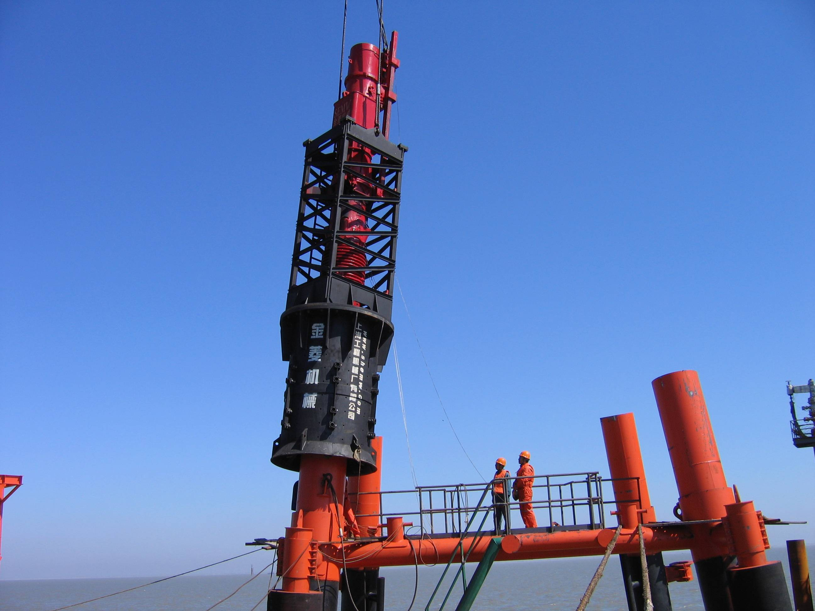2019 High quality Steel Pipe Pile Hammer - D180 DIESEL PILE HAMMER – Engineering Machinery