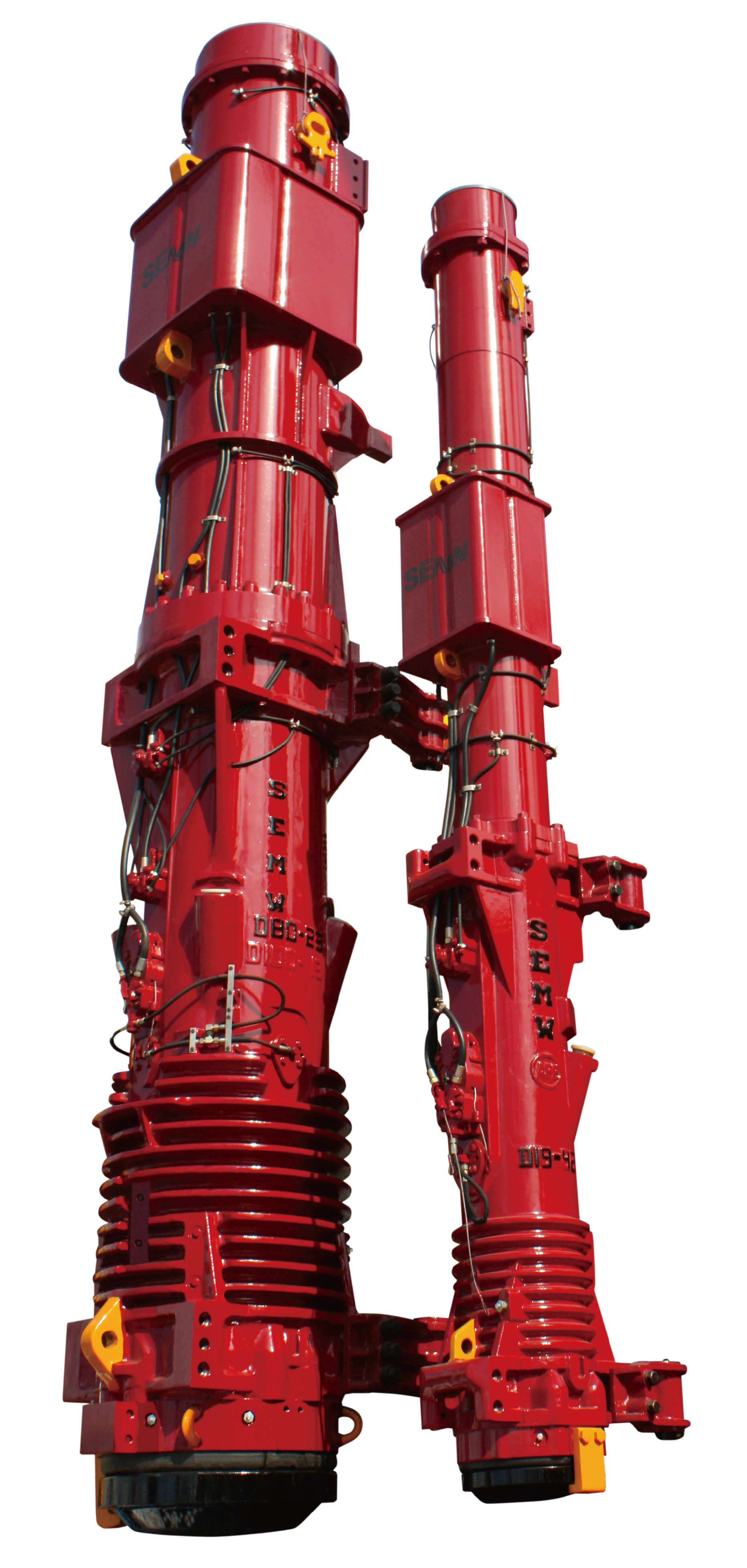 Newly Arrival Semw Hammers Manufacturer - D180 DIESEL PILE HAMMER – Engineering Machinery