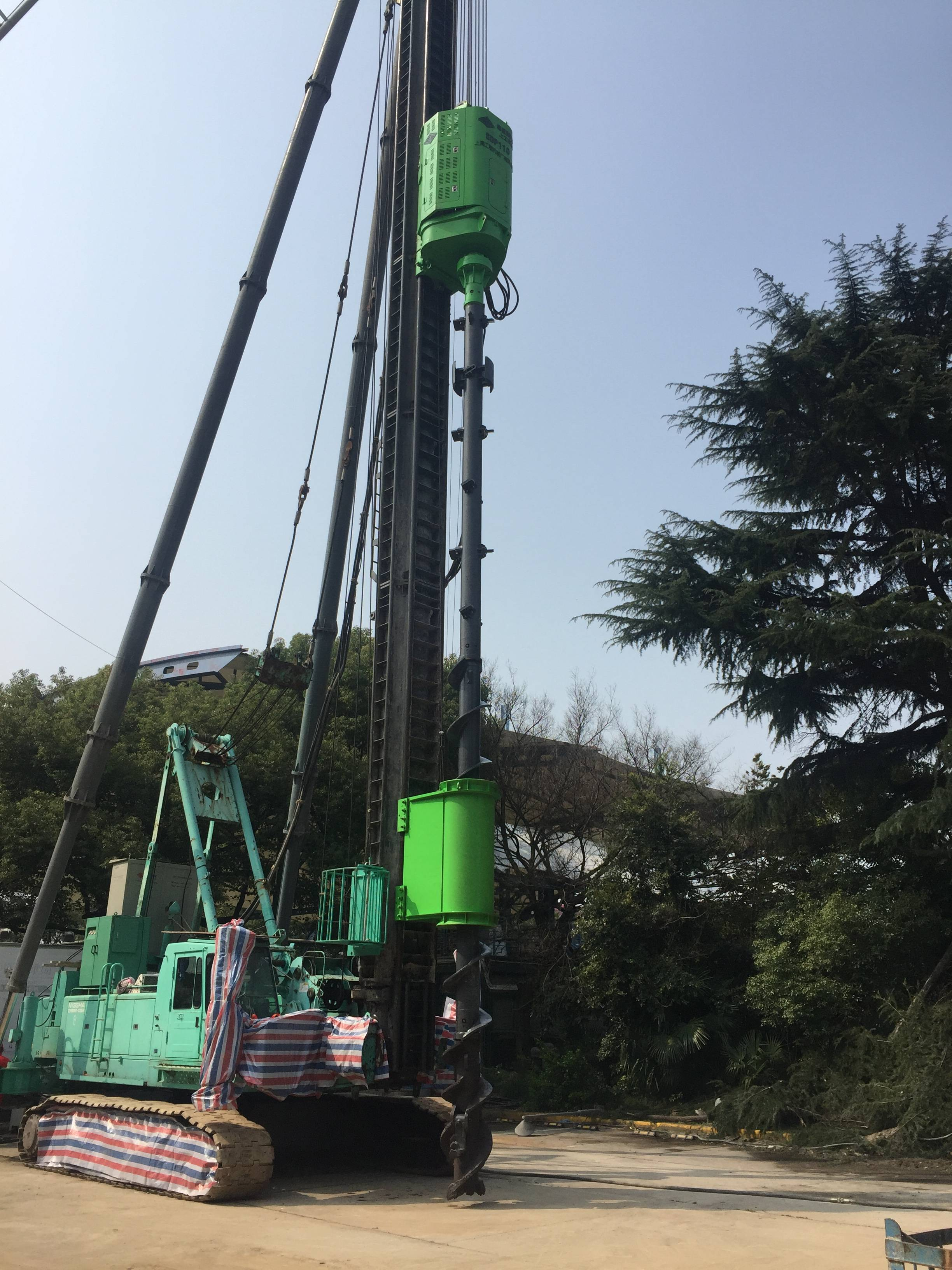 2019 High quality Sdp220 Pre-Bored Pre-Cast Piling Equipment - Pre-bored Pre-cast Piling Equipment – Engineering Machinery