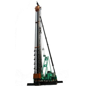 JB160A Hydraulic Walking Piling Rig