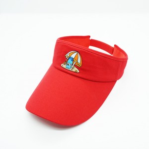 Factory Free sample Cool Visor Hats -