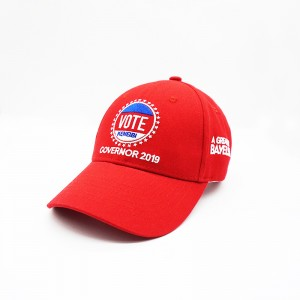 Big Discount Baseball Cap Promotional Baseball Cap Custom New Embroidered Red Baseball Era Cap