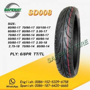 OEM/ODM Supplier Camara Motocicleta Irc 300-18 -