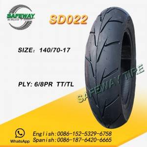 China OEM Gso Motorcycle Tire -