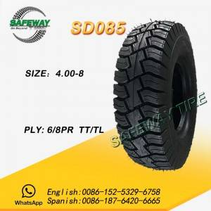 TRICYCLE TIRE SD085 400-8