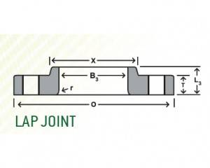 Lap Joint Forged Flange