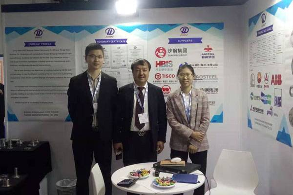 Shanxi donghuang takes part in the 2019 ABU dhabi international petroleum exhibition