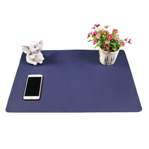 2019 High quality Pu Salon Mats - PVC leather smooth computer desk protector mat – Sheep