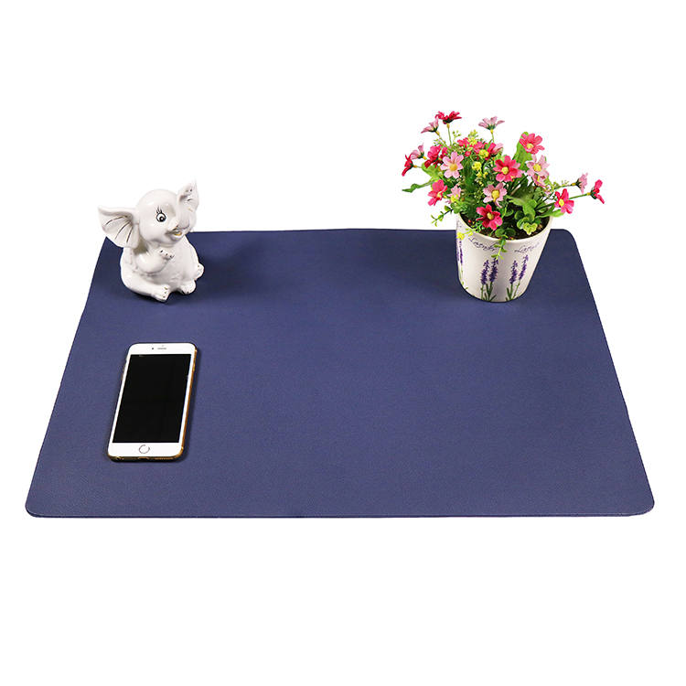 Manufacturer For Desk Anti-Fatigue Mat - PVC leather smooth computer desk protector mat – Sheep