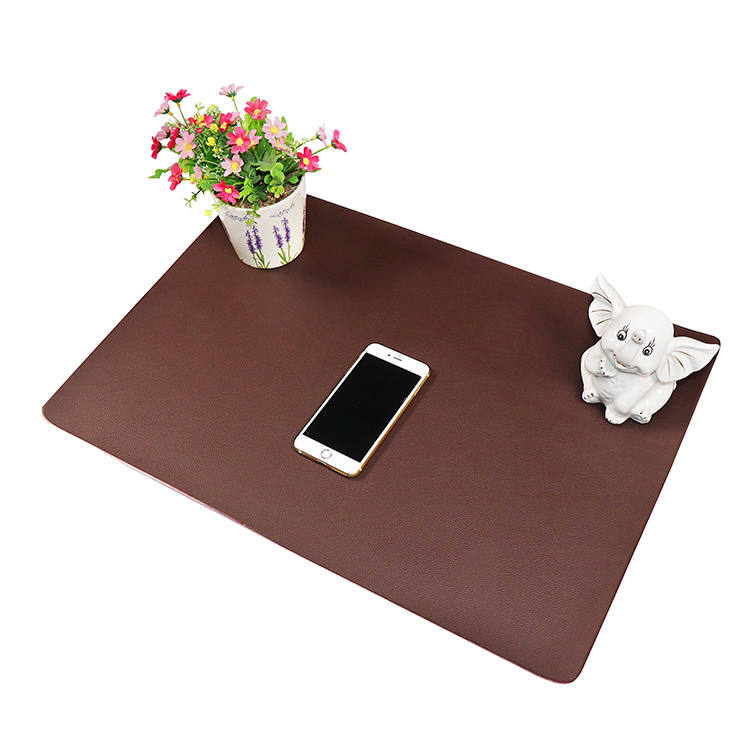 Wholesale Barber Chair Salon Mat - Waterproof PVC leather office computer mouse mat – Sheep detail pictures