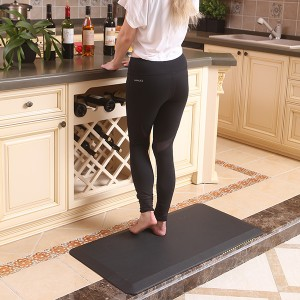 Factory making Anti Fatigue Mat Kitchen Floor - 34 Inch Thick Perfect Kitchen standing Mat – Sheep