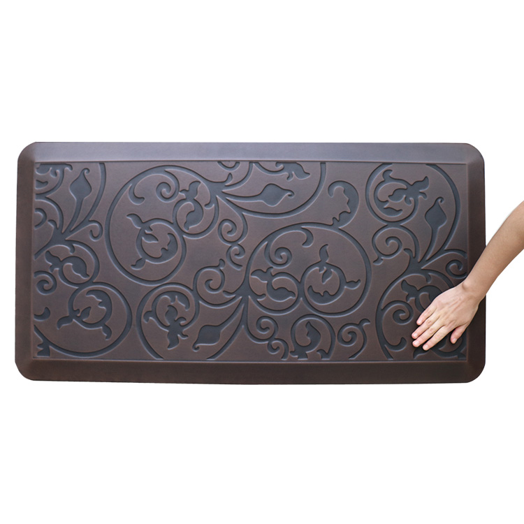 Trending Products Anti Fatigue Hard Floor Mat - Antique Flower Kitchen Anti Fatigue Floor Mat – Sheep