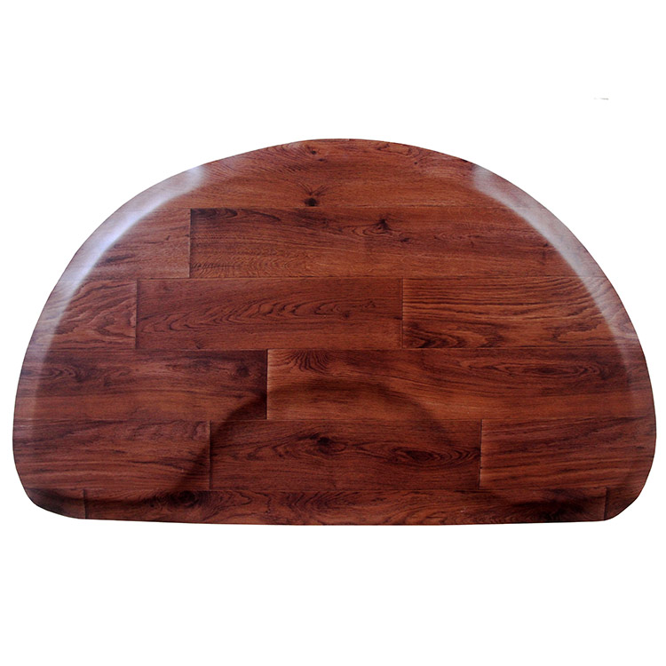Free sample for Kitchen Standing Mat - Wood grain salon barber  shop mat – Sheep