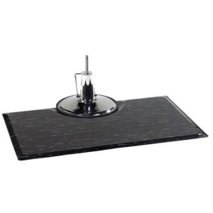 Rectangular Marbelized antifatigue Salon Mats