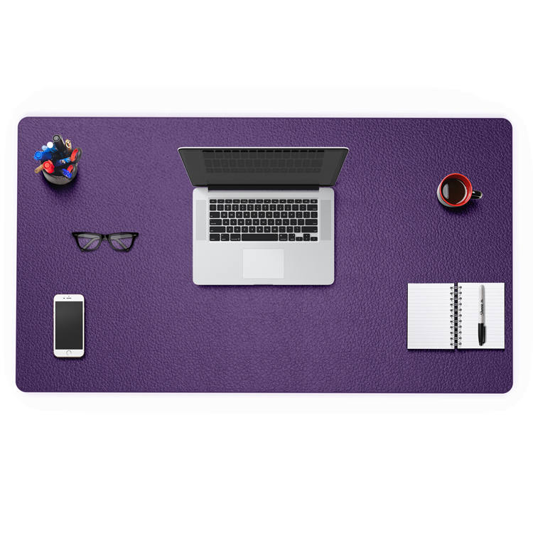 Leading Manufacturer for Anti Fatigue Comfort Standing Mat - PVC leather office padded protector computer keyboard desk mat – Sheep detail pictures