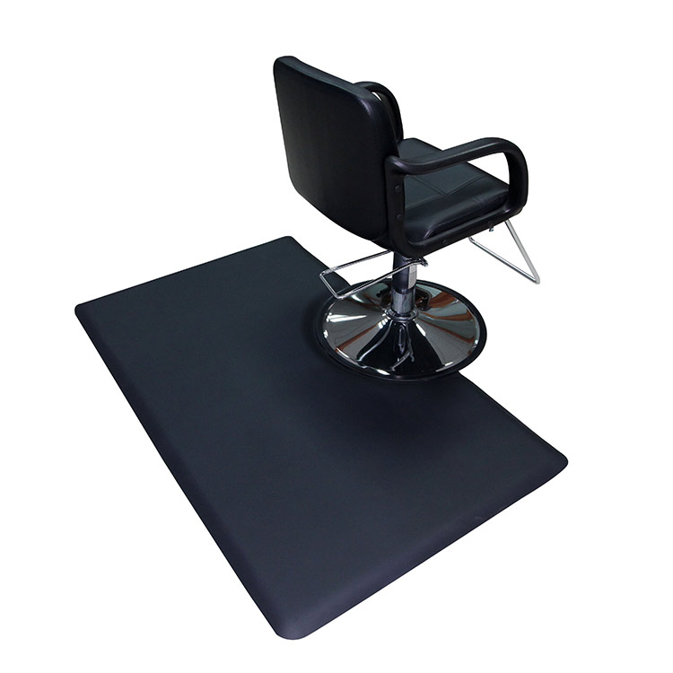 Wholesale Semi-Circle Salon Mat - Multi shape Barber Shop Chair Anti-Fatigue Floor Mat – Sheep detail pictures