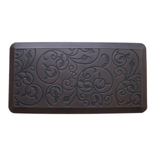 Cheapest Factory Anti Fatigue Pu Comfort Mat - Antique Flower Kitchen Anti Fatigue Floor Mat – Sheep