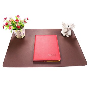 PVC Waterproof mat ofîsa leather mişkê kompîturê