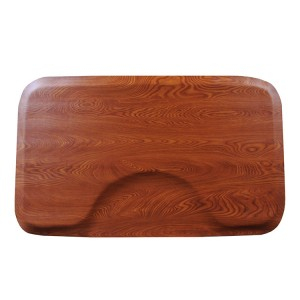 Wood grain salon barber  shop mat