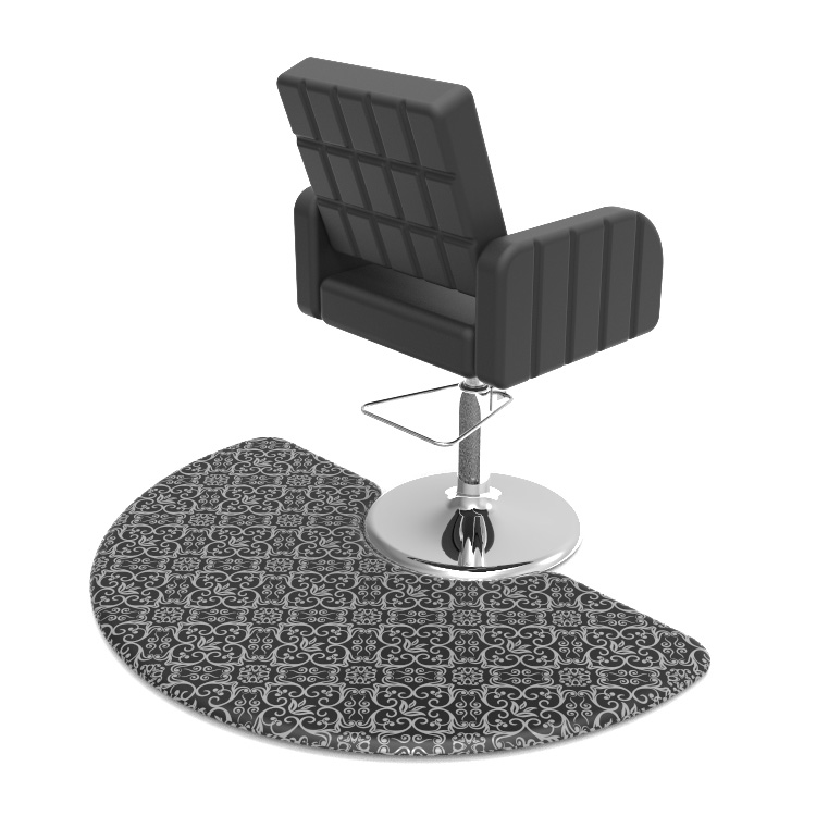 Manufacturer for Barber Salon Mat - Semi Circle Anti Fatigue Salon Mat for Hair Stylist – Sheep