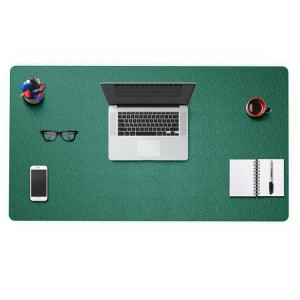 PVC leather office padded protector computer keyboard desk mat