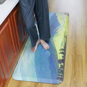 UV Printing Anti-Fatigue Kitchen Floor Mats